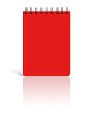 Spiral blank notebook Royalty Free Stock Photography