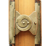 Spiral book clasp Stock Image
