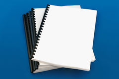 Spiral bound book Stock Photography