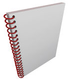 Spiral Bound Book Cover Notebook Journal Blank Copy Space Stock Photos