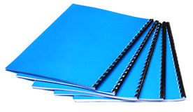 Spiral bound note book Royalty Free Stock Photography