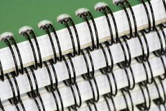 Spiral-Bound Note Books Royalty Free Stock Photography
