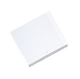 Spiral bound note pad. Isolated on white background Royalty Free Stock Image