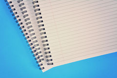 Spiral bound paper Stock Photos