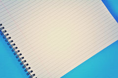 Spiral Bound Top Down Royalty Free Stock Image