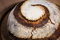 Spiral bread loaf Royalty Free Stock Photography