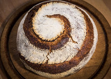 Spiral bread loaf Stock Photos