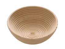 Spiral bread proofing bowl Stock Images