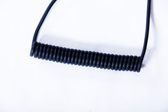 Spiral cable Stock Images