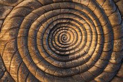 Spiral Carvings Background Stock Image