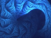Spiral Cave royalty free stock photos