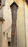 Spiral chimney pot, Campo Ligure, Italy Royalty Free Stock Image