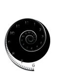 Spiral_for_clock Stock Image