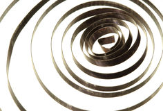 Spiral coil spring Royalty Free Stock Photography