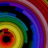 Spiral color Stock Image