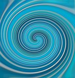 Spiral from color lines. stock images