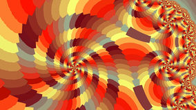 Spiral. Colored patterns. Stock Image