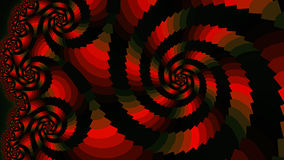 Spiral. Colored patterns. Royalty Free Stock Photo