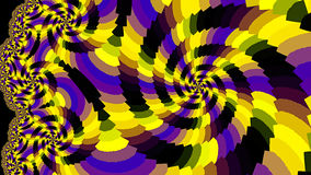 Spiral. Colored patterns. Royalty Free Stock Photos