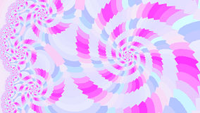 Spiral. Colored patterns. Stock Images