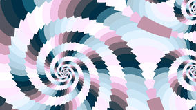 Spiral. Colored patterns. Stock Photo