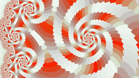 Spiral. Colored patterns. Royalty Free Stock Photography