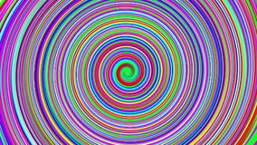 Spiral of colors stock footage