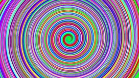 Spiral of colors stock video