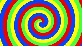 Spiral of colors stock video footage