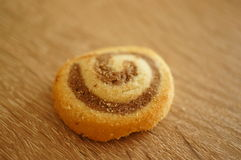 Spiral cookie Royalty Free Stock Images