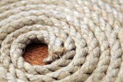Spiral cord closeup Stock Photo