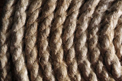 Spiral cord texture Stock Images