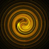 Spiral 3d background illustration. Abstract spiral 3d background illustration Stock Image