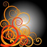 Spiral design Stock Images