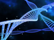 Spiral DNA Royalty Free Stock Photo