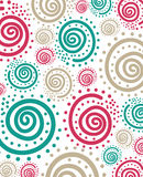Spiral dot pattern. Abstract background Stock Photo