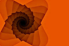 Spiral downward Staircase Background with copy space Stock Photos
