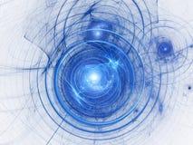 Spiral för bakgrund för abstrakt konst för färg. Royaltyfria Bilder