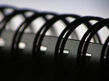spiral för bokanmärkning arkivfoton