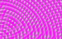 Spiral för varma rosa färger för modeller Arkivbilder