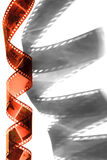 Spiral of the film Stock Photography