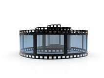 Spiral Film Royalty Free Stock Images