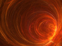Spiral fire background. Fantastic background with abstract fire like a spiral funnel (or like a black hole in space Royalty Free Stock Photos