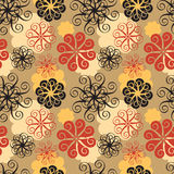 Spiral Flower Pattern Stock Photos