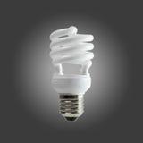 Spiral fluorescent light Stock Photo