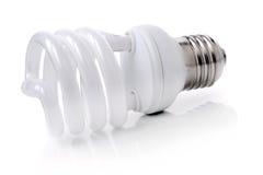 Spiral fluorescent light Royalty Free Stock Photos