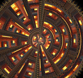 Spiral Fractal Stock Photos
