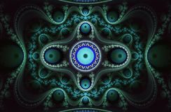 Spiral Fractal 8 Royalty Free Stock Photography