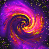 The Spiral galaxy Stock Images