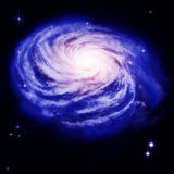 Spiral Galaxy Royalty Free Stock Photos